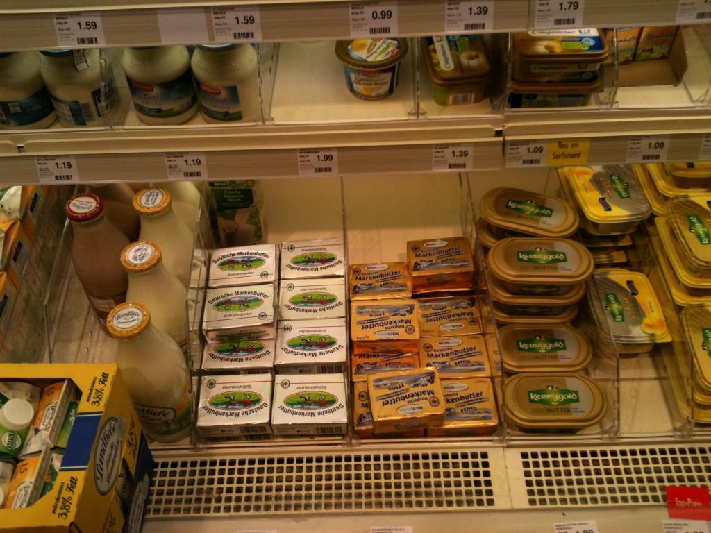 Wo ist die ganze Butter?!